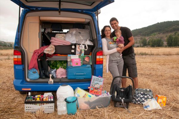 La Furgoteta, viajes en familia