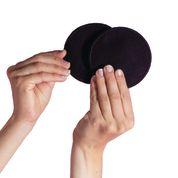 Discos lactancia algodón negros