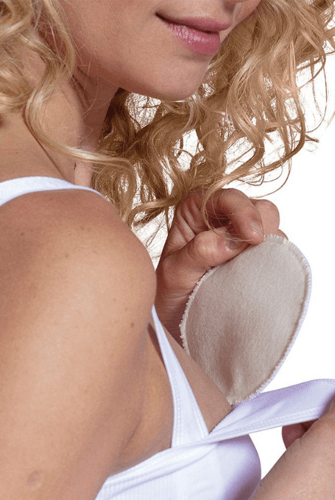 Discos lactancia algodón blancos