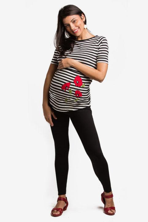 Leggins embarazo premama negros