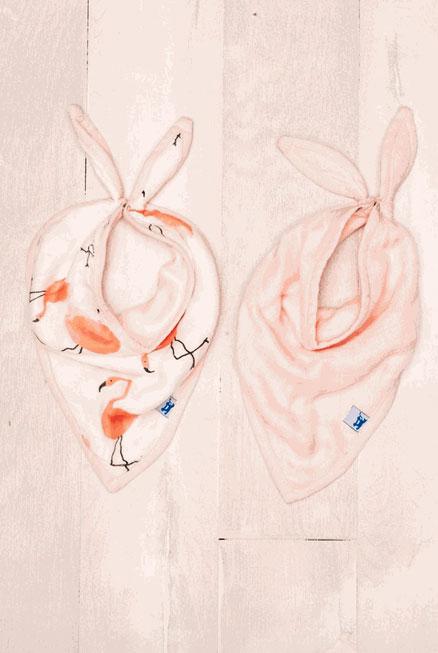 Set 2 Bandanas Flamingo