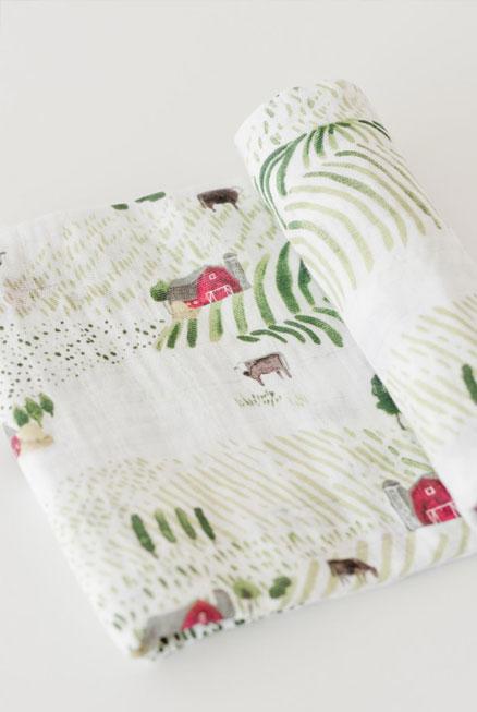 Muselina algodón Campiña 120×120