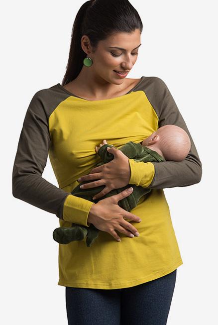Camiseta lactancia y premamá Bruna