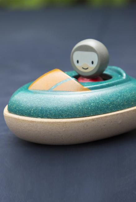 Lancha divertida bebé juguete bañera