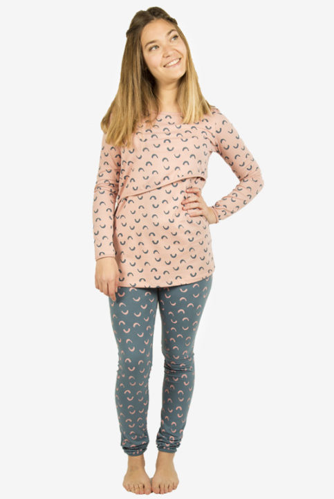 Pijama lactancia y premama chic