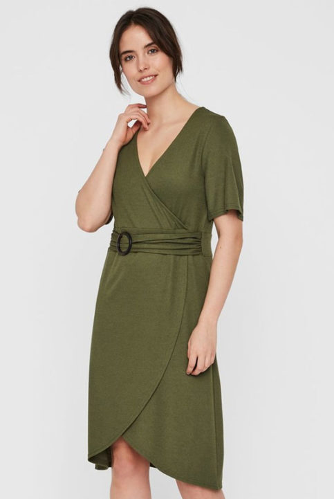 vestido de lactancia verde verano