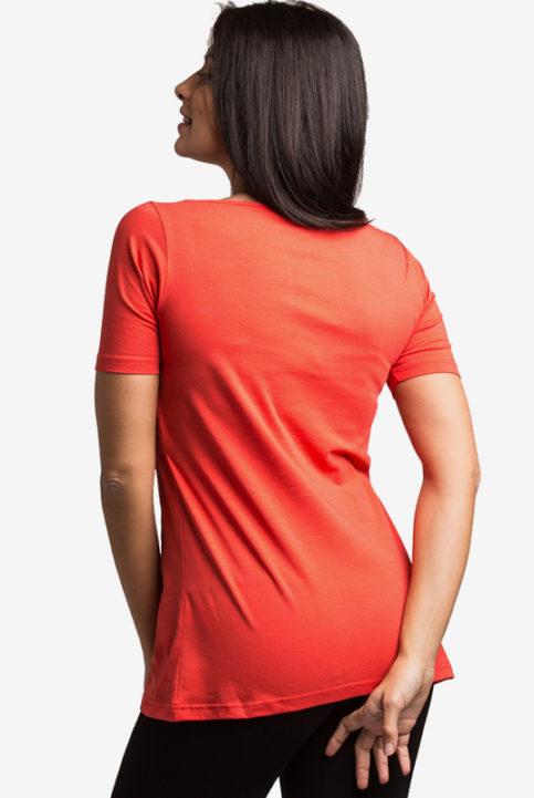 Camiseta lactancia Nerea coral Arbol de Amor