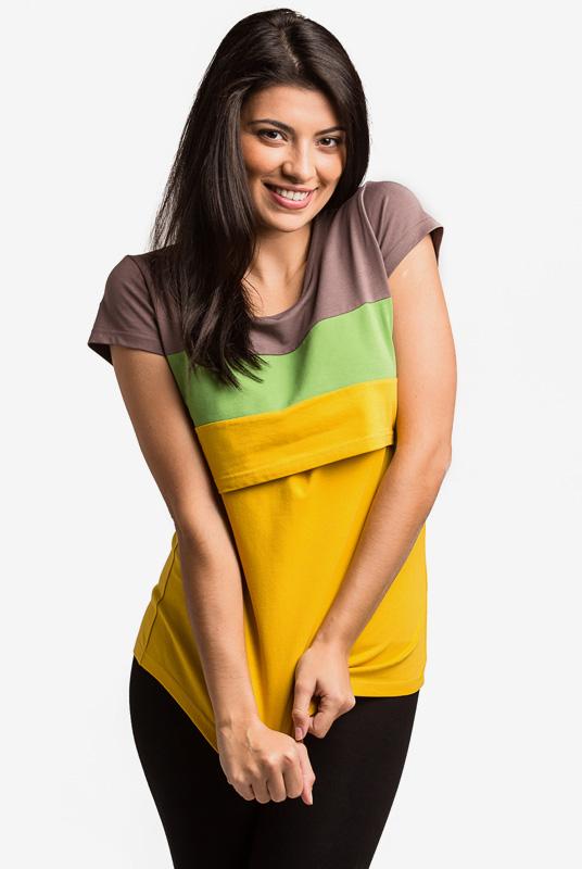 Camiseta Lactancia y Premamá Runa