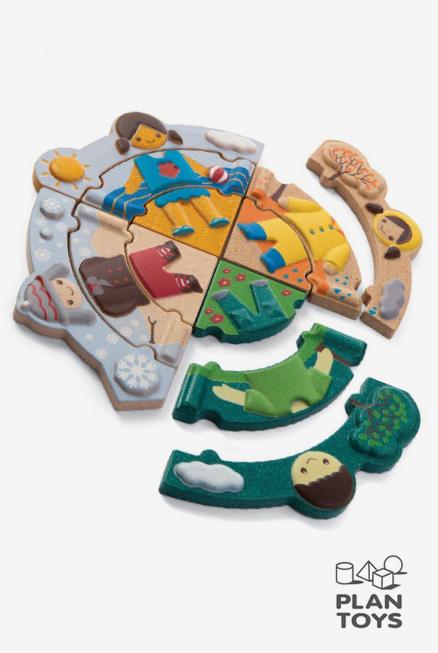 ¿Qué tiempo hace hoy?, puzzle de madera (5666)