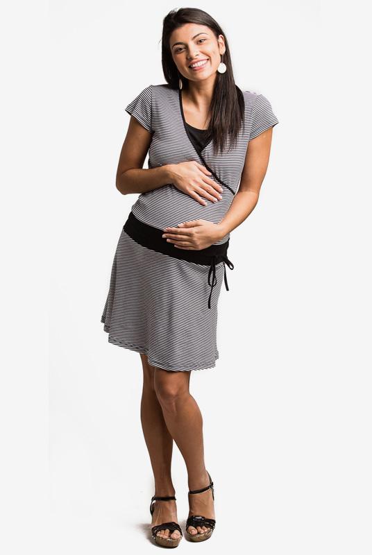 Vestido lactancia y embarazo Lais