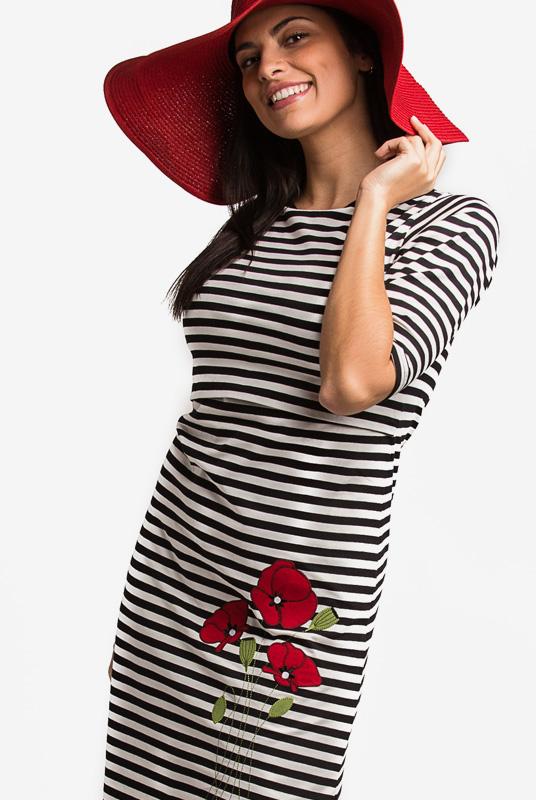 Vestido Lactancia Poppy