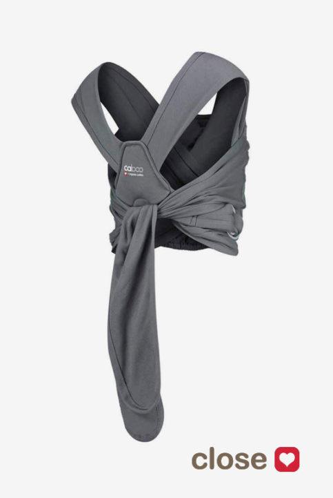 mochila portabebés caboo algodón orgánico