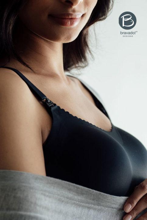 sujetador invisible lactancia embarazo con relleno extraible