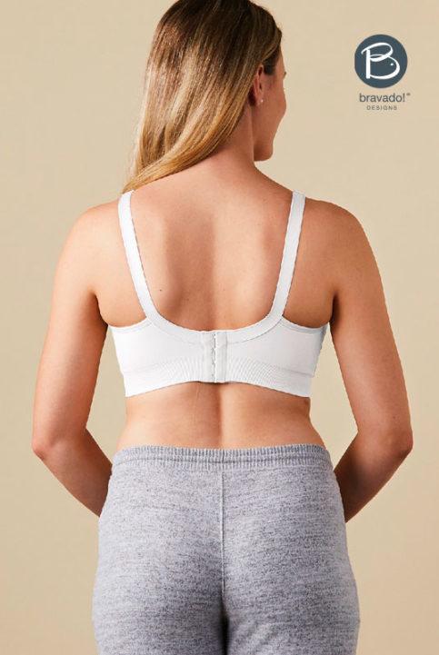 sujetador lactancia bravado silk seamless blanco