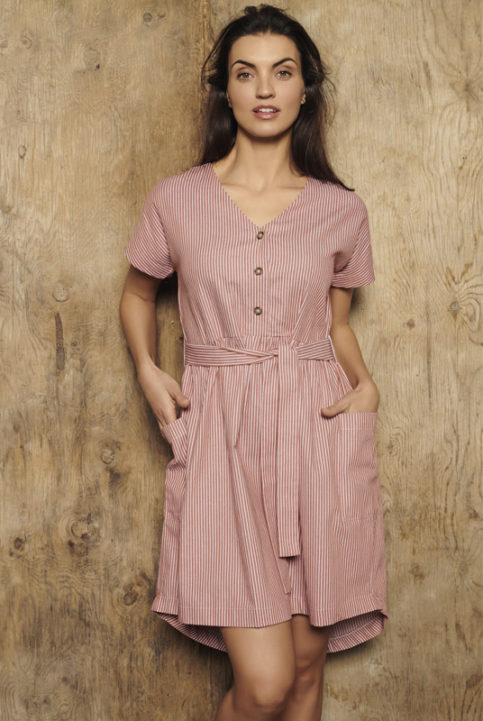 vestido lactancia california vintage