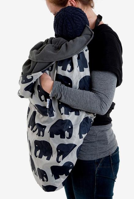 Bundlebean Cobertor Porteo Elefantes
