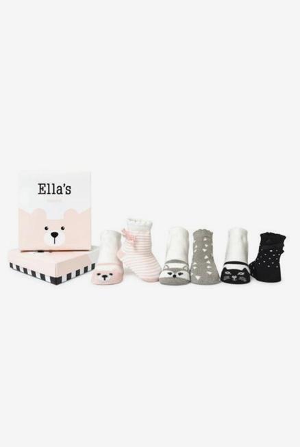 Calcetines antideslizantes 0-12 meses Ella
