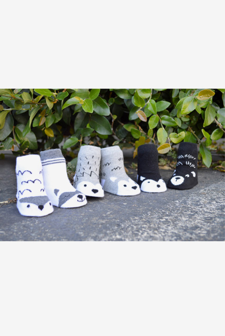 Calcetines antideslizantes 0-12 meses Little Adventure's