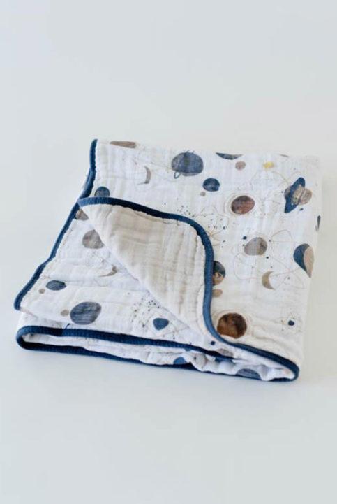 manta muselina de algodón 120x120