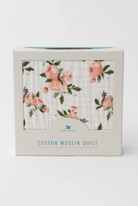 Manta muselina calentita suave de algodón