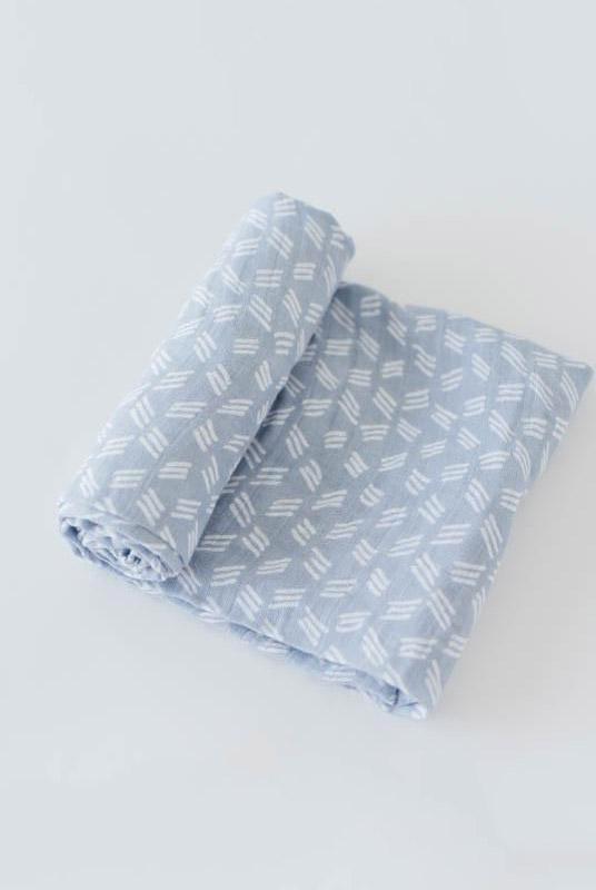 Muselina algodón Blue Grass 120×120