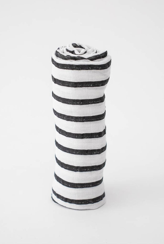 Muselina algodón Rayas 120×120