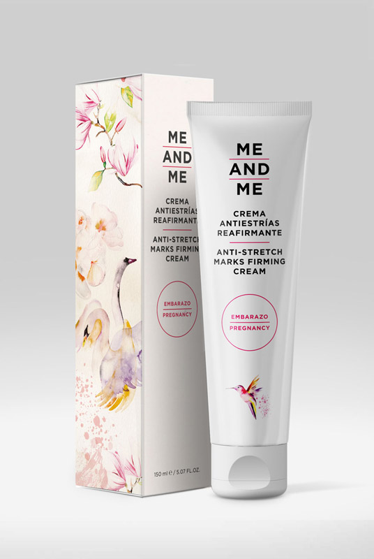 Me and Me – Crema Antiestrías Reafirmante 150ml