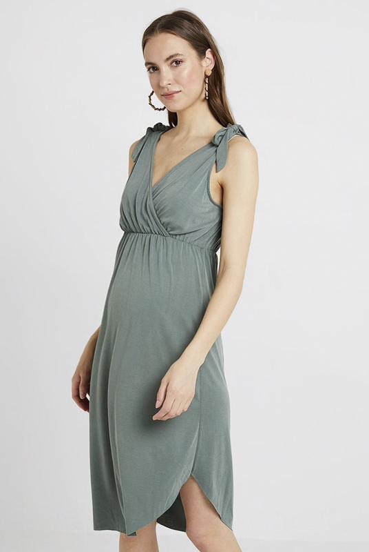 Vestido lactancia y embarazo asimétrico, últimas tallas L y XL