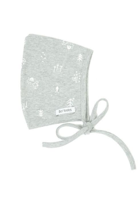 Conjunto recién nacido pijama + gorro grey birds