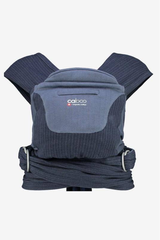 Nueva mochila portabebes Caboo Organic Dapple