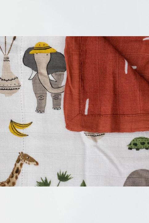 manta muselina safari