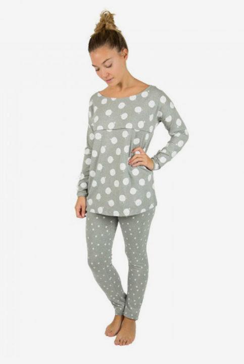 pijama de lactancia y embarazo