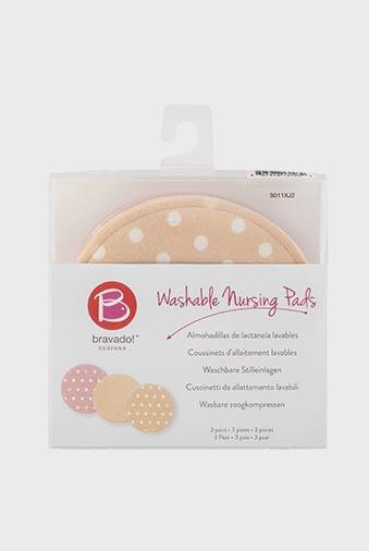 Disco lactancia lavable Bravado3