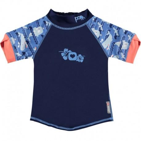Camiseta UV ballenas