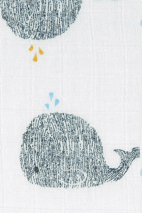 Muselinas Water Whale (set de 2 unidades)