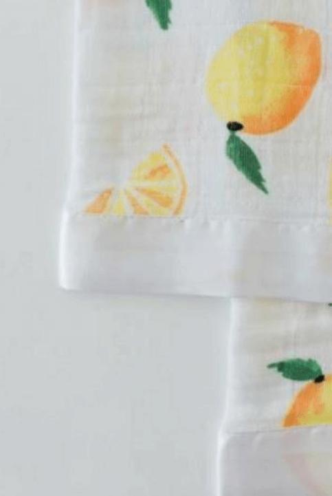 Trapito de apego muselina limones