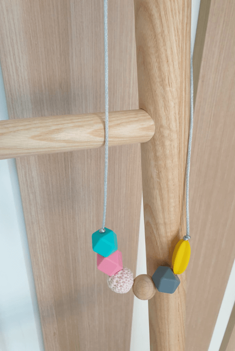 Collar lactancia y maternidad Texturas Pink
