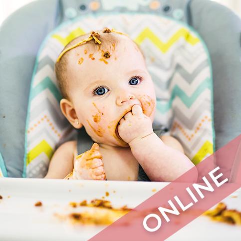 Taller BLW bebé de 0-1 año online