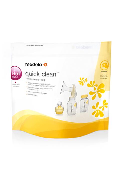 Quick Clean bolsas para microondas