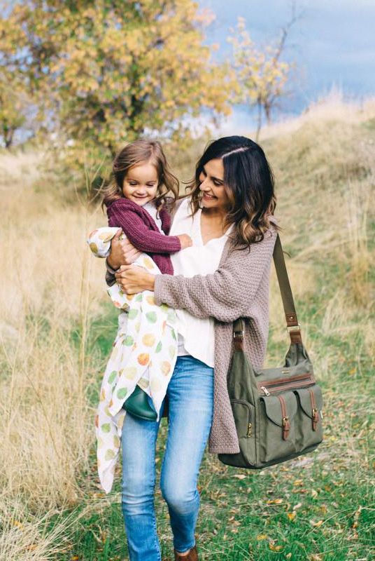 Bolso organizador maternal Rambler Olive