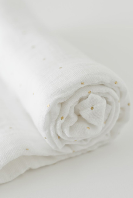 Muselina algodón Gold 120×120
