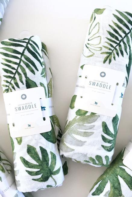 Muselina algodón Tropical 120×120