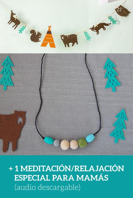 Kit regalo forest para mamá y bebé + meditación