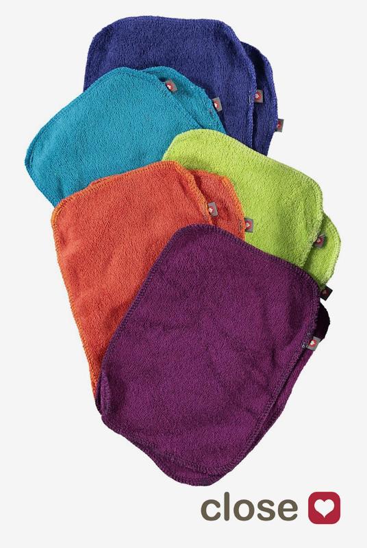 Pack 10 toallitas bambú